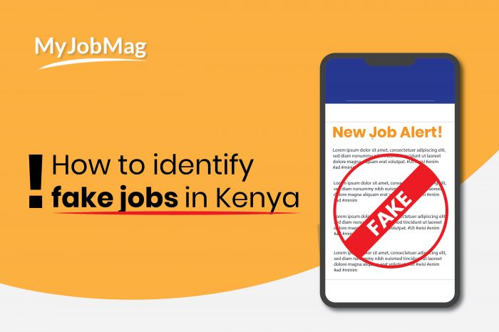 How to Identify Fake/Scam Jobs in Kenya