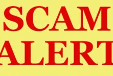 Scam Alert: Youths for Youth Initiative (YFYI) banner