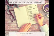 Job Interview Checklist - Never Fail Any Job Interview Again banner