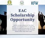 EAC Masters' Scholarship Opportunity (Cohort 2) – by 22nd October 2020