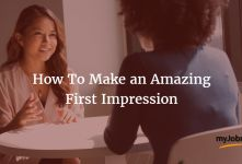 How To Make An Awesome First Impression banner