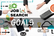 Goal Setting for a Job Seeker banner