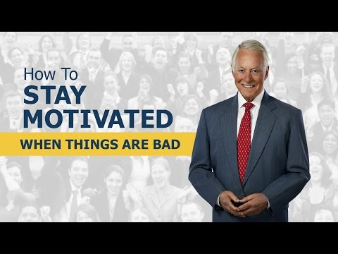 How Do You Keep Your Cool and Stay Motivated When Things Are Bad?